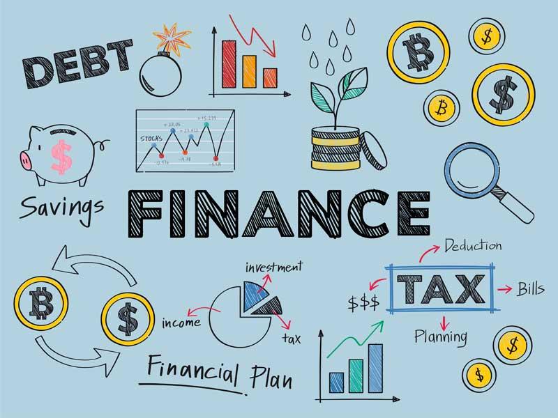 Финансовое планирования с помощью mind-maps