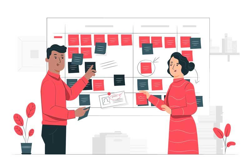 Планирование проекта в виде ментальной карты