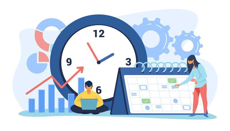 Планирование времени с помощью mind-maps